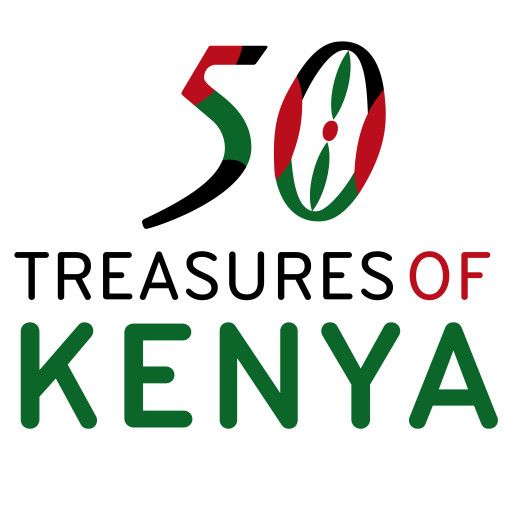 Logo 50 Treasures of Kenya klein